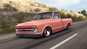 Bagged 68 Chevy C10 Cruising