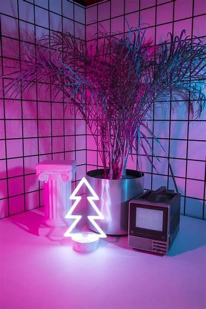 80s 90s Tech Holiday Aesthetic Neon Retro