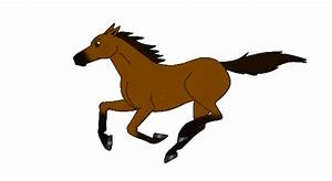 Anime clipart animated horse - Pencil and in color anime ...