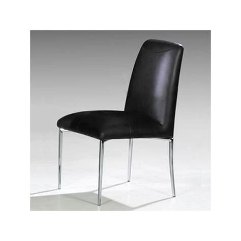 lot de 4 chaises noires lot de 4 chaises stella noir