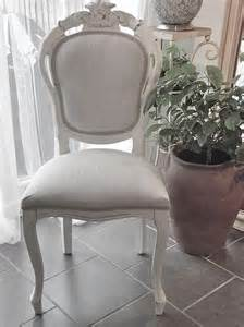 shabby chic french style bedroom or dining chair