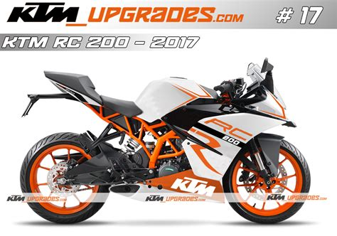 ktm rc duke 125 200 390 decals kits graphics stickers wraps store