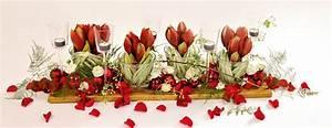 Art Floral Centre De Table Noel : art floral pour no l centre de table compositions florales ~ Melissatoandfro.com Idées de Décoration