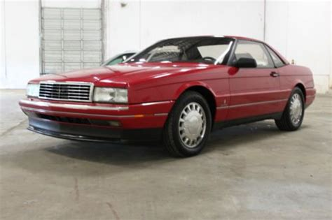 how can i learn about cars 1993 cadillac deville electronic throttle control purchase used rare extensive 1 owner history 1993 cadillac allante in