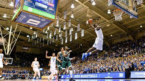 dukes zion williamson continues  dunk