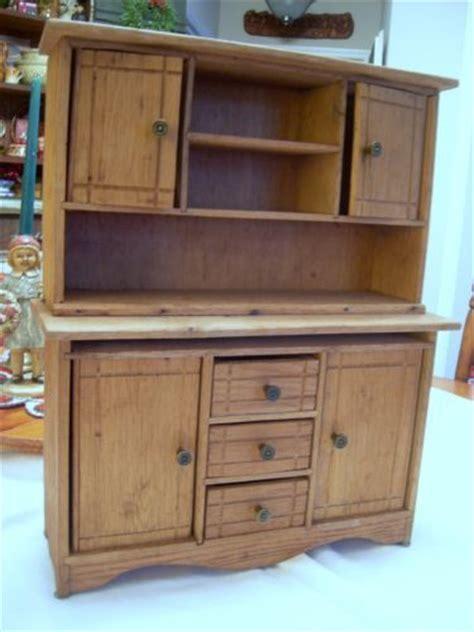 Antique Vintage Child's Hoosier Cabinet Kitchen Cabinet
