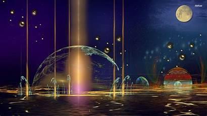 Wallpapers Water Colorful Moonlight Wallpapersafari Code