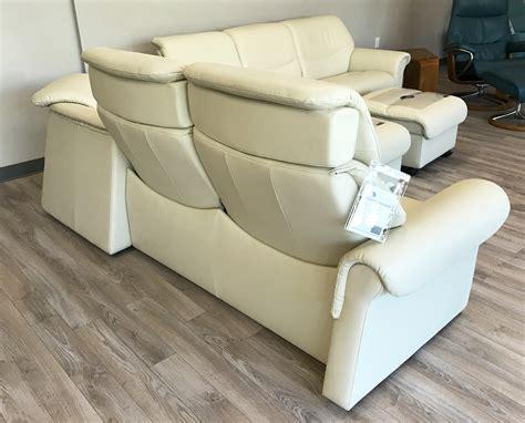 stressless liberty sofa sectional  paloma light grey