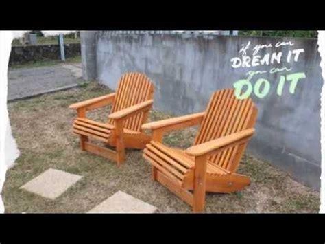 Fabriquer Une Chaise à Palabre En Bois  Tuto Brico Ave