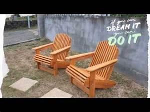 Fabriquer Un Fauteuil : fabriquer une chaise palabre en bois tuto brico ave ~ Zukunftsfamilie.com Idées de Décoration