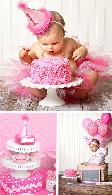 1st birthday ideas for baby girl party themes inspiration adorable pretty in pink 1st birthday party hostess with