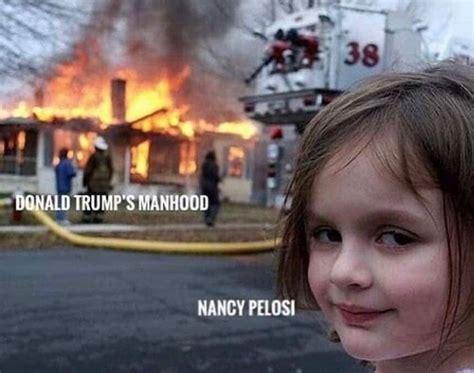 funniest nancy pelosi meeting  trump memes ahseeit