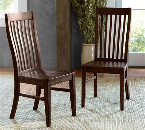pottery barn dining chairs trieste side chair pottery barn