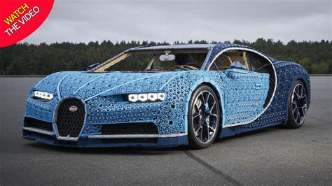 First of all, to clear up any sort of misunderstanding: Bugatti unveils the world's first full-sized LEGO sports car that actually drives - Mirror Online