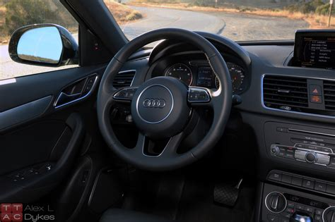 audi q3 dashboard 2017 audi q3 quattro review the truth about cars 2017