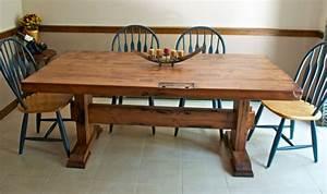 Reclaimed Barn Door Dining Table - Rustic - Dining Room