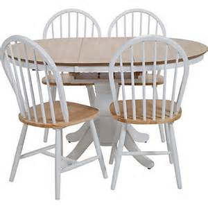 kentucky two tone extending dining table and 6 chairs at