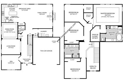 floor plans 4 bedroom 2 modular home floor plans luxamcc