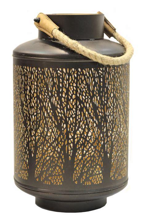 windlicht schwarz metall windlicht 32x20cm metall schwarz gold kerzenhalter garten