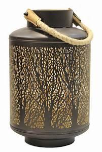 Kronleuchter Metall Schwarz : windlicht 32x20cm metall schwarz gold kerzenhalter garten deko laterne levandeo ~ Orissabook.com Haus und Dekorationen