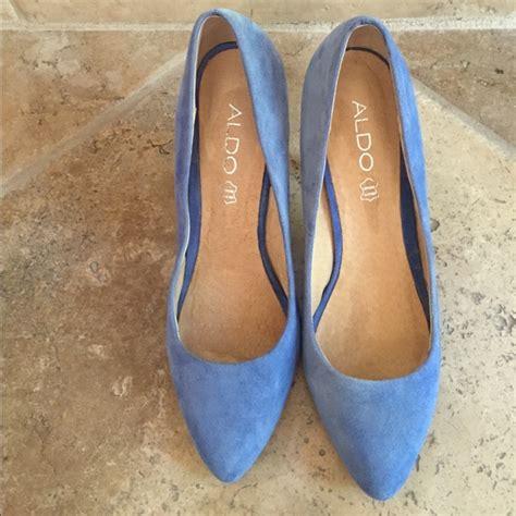light blue suede heels 50 aldo shoes aldo light blue suede pumps heels