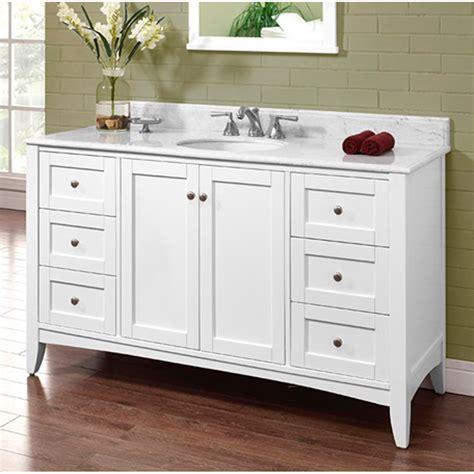 fairmont designs shaker americana  single bowl vanity
