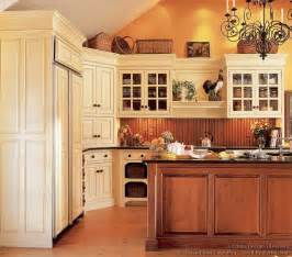 kitchens with wood floors of kitchens traditional two tone kitchen cabinets