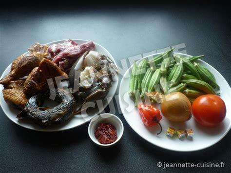 jeannette cuisine sauce gombo plat africain jeannette cuisine