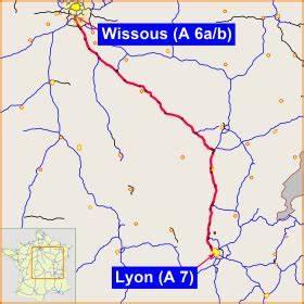 Carte De France Autoroute : autoroute a6 france wikip dia ~ Medecine-chirurgie-esthetiques.com Avis de Voitures