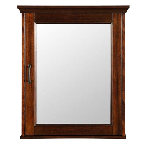 medicine cabinet for home foremost ashburn 23 in w x 28 in h x 7 3 4 in d framed