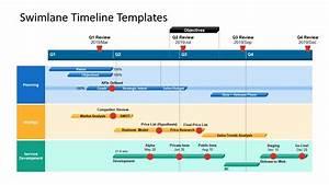 Swimlane Flowchart Project Timeline Ppt
