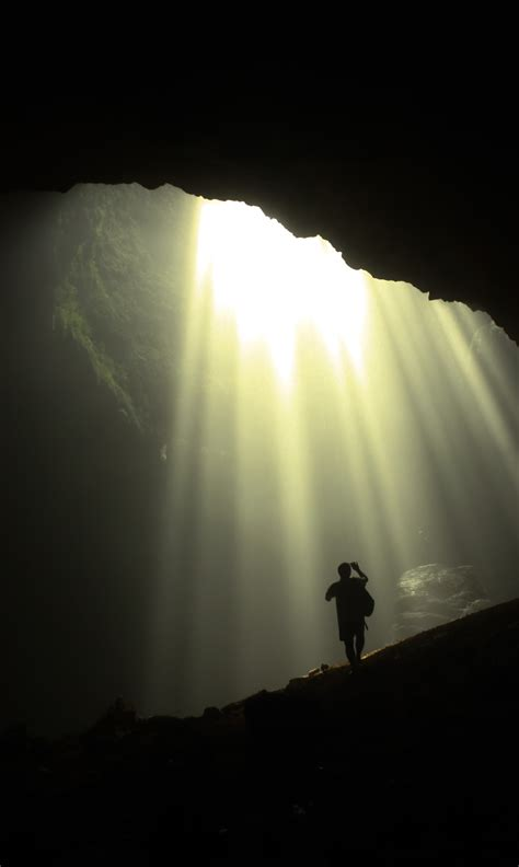 the cave and the light what is hope happy heart
