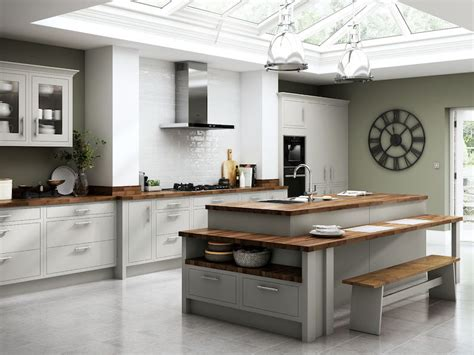 Chelsea Matt Dove Grey Kitchen From Benchmarx Kitchens Makes This Year's House Beautiful Award