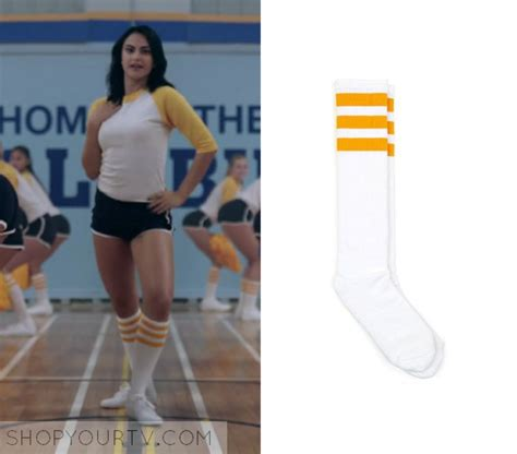 Riverdale Season 1 Episode 2 Veronicau2019s Striped Socks u2013 Shop Your TV
