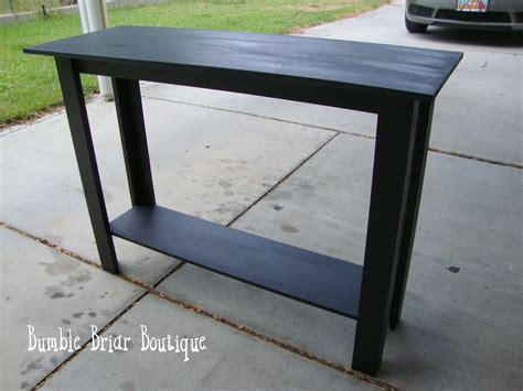 Bumble Briar Boutique How To Build A Sofa Table
