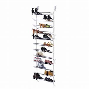 Schuhregal Für Die Tür : schuhregal f r die t r kunststoff metall wei ~ Watch28wear.com Haus und Dekorationen
