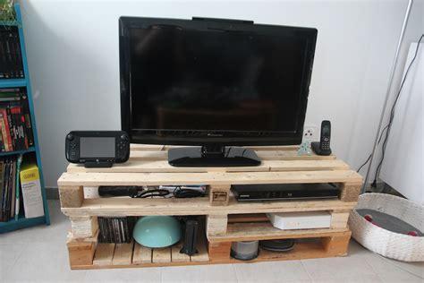 ikea canape tutoriel diy meuble tv en palettes sous notre toit