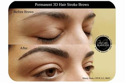Brows Permanent Microblading Eyebrow Stroke Hair Beaute