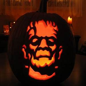 Its all about fun halloween pumpkin desig for Frankenstein pumpkin carving