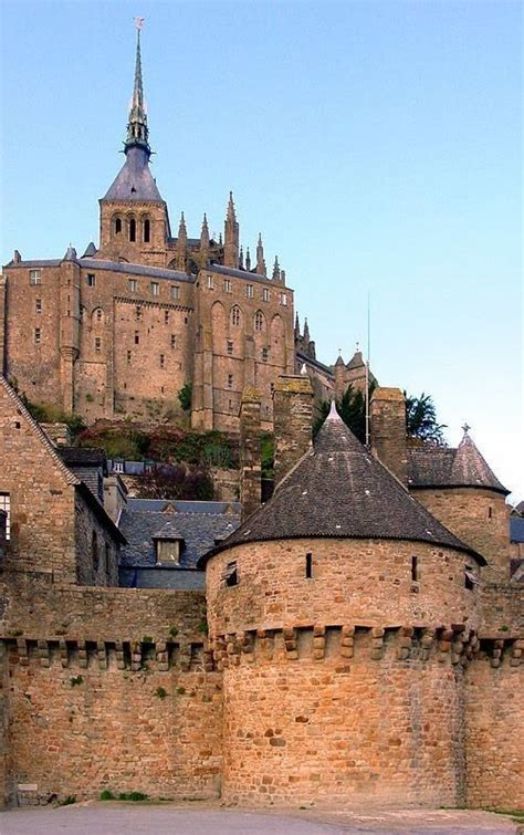 mont michel normandie castle mont michel in normandy more scenic castles at http scenic