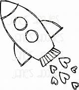 Rocket Drawing Ship Coloring Tattoo Doodle Clipart Cartoon Space Rocketship Tatoo Quoteko Quotes Infinity Tattoos Clip Zeichnungen Cohetes Frames Simple sketch template