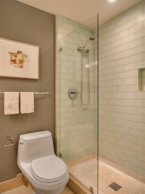 walk  showers  small bathrooms bathroom contemporary