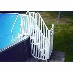 Meilleur Electrolyseur Piscine : escalier piscine hors sol pour 2018 comment trouver les ~ Melissatoandfro.com Idées de Décoration