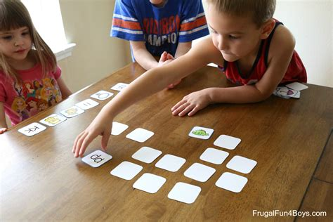Printable Alphabet Memory Game Cards - Frugal Fun For Boys ...