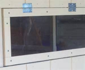 Deer Blind Windows Plexiglass