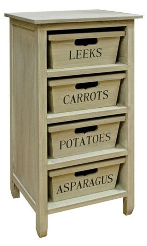 Veg Drawers by Storage Racks Shabby Chic Farmhouse And Vegetables On