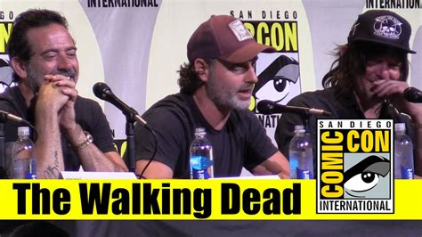 assista ao painel completo de the walking dead na san