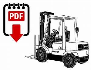 Hyster H45xm  D177  Forklift Repair Manual