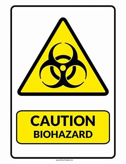 Biohazard Sign Printable Signs Caution Warning Symbol