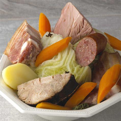 spécialité normande cuisine potée normande une recette terroir cuisine le figaro